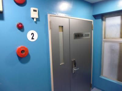 入谷ホール【加瀬会議室】 入谷ホール2階の入口の写真