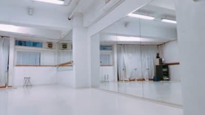 多目的に使用できます 用途に合わせて! - 臼倉バレエスタジオ 多目的スタジオの室内の写真
