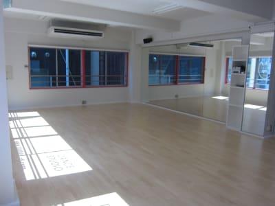 1室のみなので貸切となります - STUDIO C5 駅近ダンススタジオの室内の写真