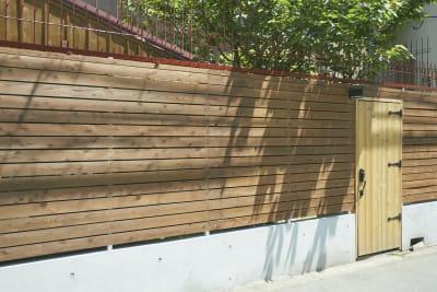 雰囲気ある木製ドアがお出迎え(^ ^) - N-studio 庭付き自然光ハウススタジオの室内の写真