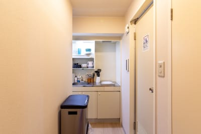 122_fika麻布十番-PS キッチンスペースの室内の写真