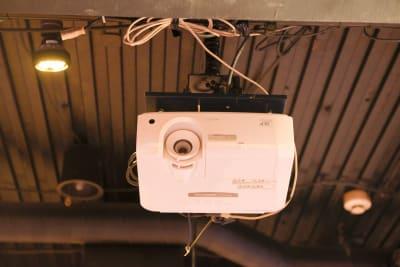 【無料貸出】プロジェクター - パセラリゾーツ新宿本店 グレースバリ~アロナ~新宿本店の設備の写真