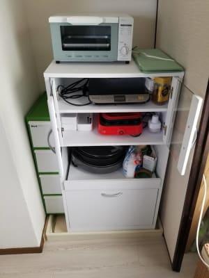 IH,たこ焼き器、ホットプレート【焼肉用鉄板、鍋用鉄板の2種類あります】 - ご縁カフェ金山レンタルルーム 洋室と和室★2部屋でゆったり空間の設備の写真