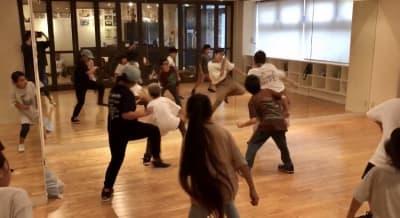お子様向けのダンスレッスン、幼児教室、空手、ボクササイズ等様々な方にご利用いただ - ダンススタジオANGELO★ レンタルスタジオの室内の写真