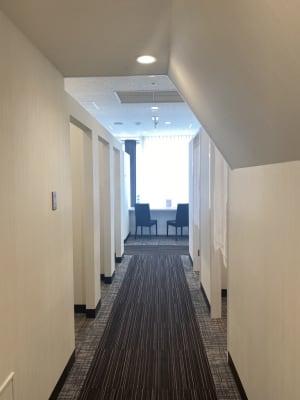 大宮そごうラウンジ コワーキングスペースの入口の写真