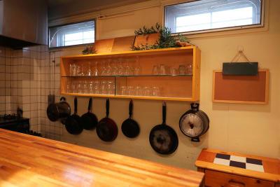 キッチン設備の整ったスペースです。 - シェアキッチンL1PCafe シェアキッチンの設備の写真