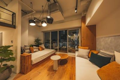 illi 下北沢 テラス付・広々リビング(301)の室内の写真