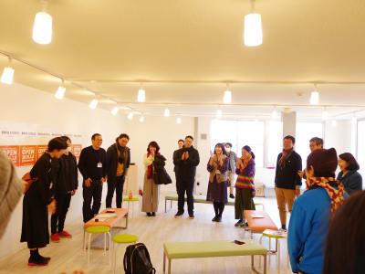 2020.3.8に行われたオープニングイベントの様子 - ONVO STUDIO INA レンタルスタジオの室内の写真