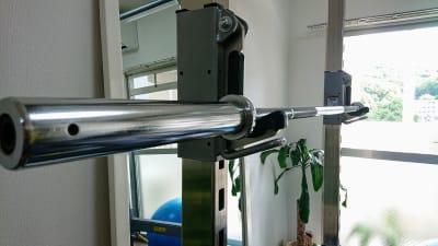 オリンピックシャフト15kg - レンタルジム レ・ムーブ 福岡最安級レンタルジムの室内の写真