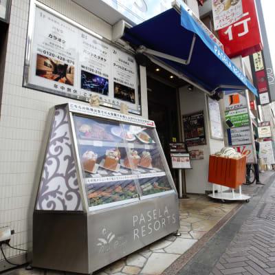 ハニトーといえばパセラ。個室でお食事も可能です。 - パセラリゾーツ渋谷 コワークスペースの入口の写真