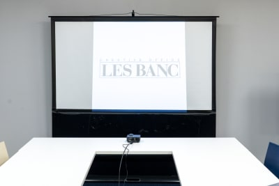 スクリーン - 南麻布 会議室 レンタルスペース 南麻布 会議室の設備の写真