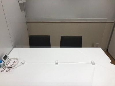【無料貸出】アクリルボード(1020×600) - 四ツ谷ビジネスラウンジ(六番町) 会議室01の設備の写真