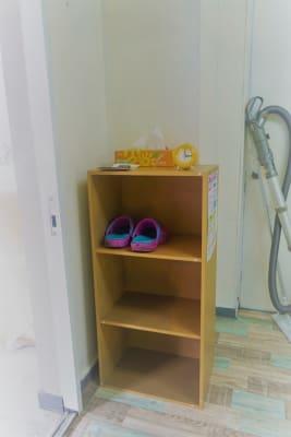全面土足禁止の為、ドアの外から靴を脱いでいただくことになります。  - SPICY CANDY ダンススタジオの設備の写真