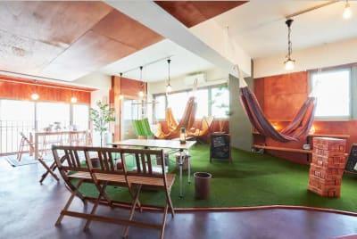 浅草おうちキャンプの室内の写真