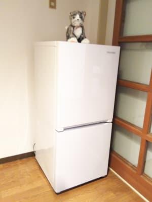 冷蔵庫 - レンタルスペースあられ 貸会議室 レンタルスペースの設備の写真
