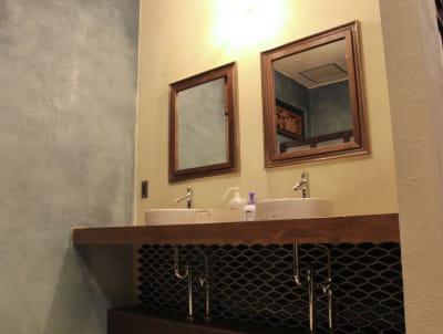 3階洗面スペース - 泊まれる純喫茶 ヒトヤ堂 期間限定の撮影スタジオの室内の写真