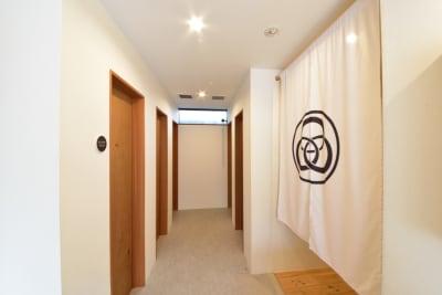 シャワーの利用も可能です(別途500円) - みつわ屋 共用スペースの室内の写真