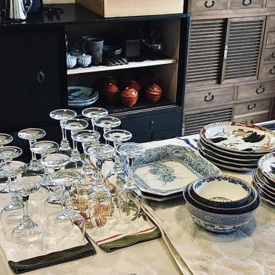 食器は良いものをご用意しています。 - 古民家スペースかえるての室内の写真