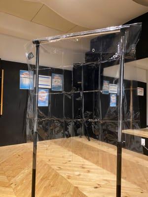 飛沫防止シート - ラビートスタジオ 天神駅4分多目的スタジオの設備の写真