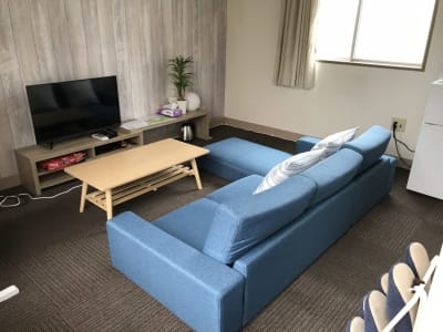 ランドプレイス大宮 4階ブレイクルームの室内の写真