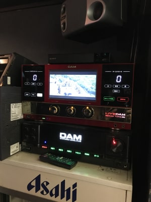 カラオケはDAM -  ムーンシェイド バー仕様レンタルスペースの設備の写真