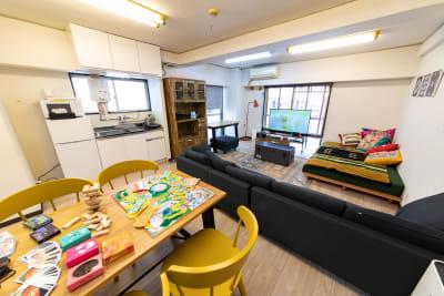 101_MOLE池袋 キッチンスペースの室内の写真