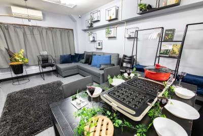 102_fika池袋 キッチンスペースの室内の写真