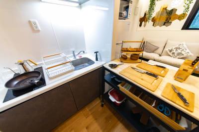 107_fika秋葉原 キッチンスペースの室内の写真