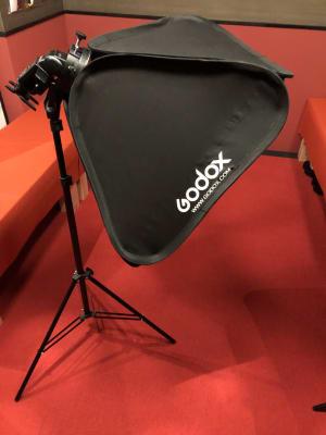 ストロボ - 変身写真館 彩華 桜・紅葉・藤の間のどれか一室の設備の写真