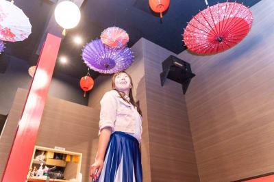 待合室  - 変身写真館 彩華 桜・紅葉・藤の間のどれか一室の室内の写真