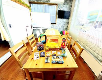 ゲーム - CraftersField 多目的レンタルスペースの室内の写真