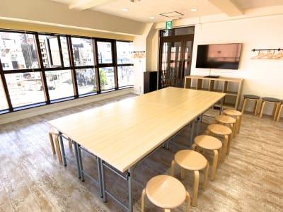 パーティ・作業用スタイル - スタジオプシュケ南林間店 レンタルスタジオの室内の写真