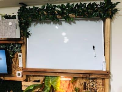 ホワイトボード - ef(エフ)ガーデン神南Ⅰ 貸し会議室★エフガーデン神南の室内の写真