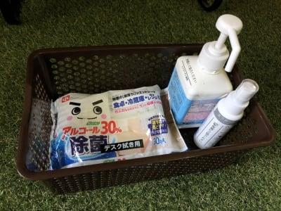 備え付けの除菌アルコールをご利用ください - ef(エフ)ガーデン神南Ⅰ 貸し会議室★エフガーデン神南の室内の写真
