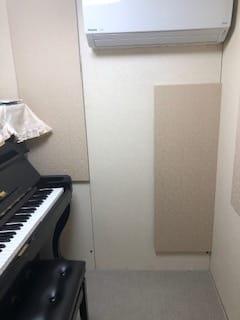 エアコン完備。 - MCジョイアス菅生店 【値引き中】早朝深夜可pianoの室内の写真