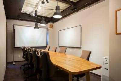 ベースポイント 会議室1の室内の写真