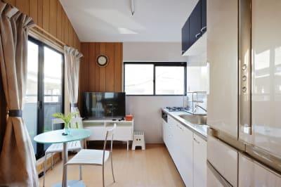 キッチン2 - 天下茶屋レジデンスイースト 貸切1戸建の室内の写真