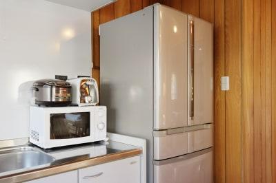 大型冷蔵庫 - 天下茶屋レジデンスイースト 貸切1戸建の設備の写真