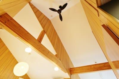 シーリングファン - 天下茶屋レジデンスイースト 貸切1戸建の設備の写真