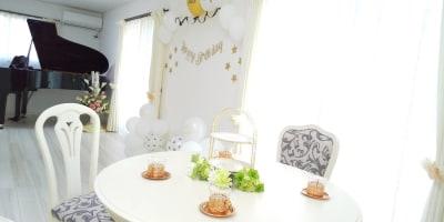 大人誕生日パーティーの後の雰囲気です♪ - レンタルスペース『サン・ユーロ』 会議室・サロン・レンタルピアノの室内の写真