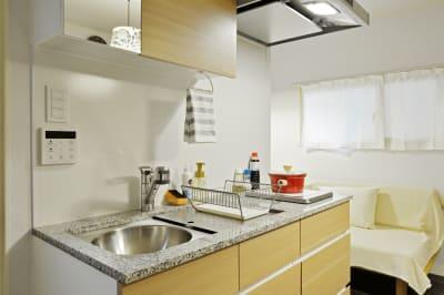 キッチン - 撮影や女子会にキッチン付き戸建 西中島コンフォートハウスの室内の写真