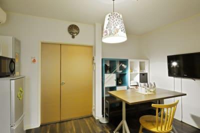 リビングエリア6 - 撮影や女子会にキッチン付き戸建 西中島コンフォートハウスの室内の写真