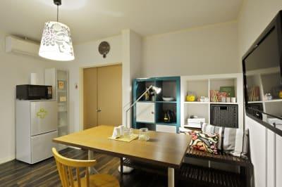 リビングエリア4 - 撮影や女子会にキッチン付き戸建 西中島コンフォートハウスの室内の写真