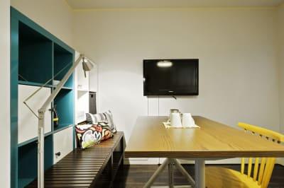 テレビ - 撮影や女子会にキッチン付き戸建 西中島コンフォートハウスの室内の写真