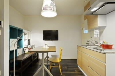 リビングエリア2 - 撮影や女子会にキッチン付き戸建 西中島コンフォートハウスの室内の写真