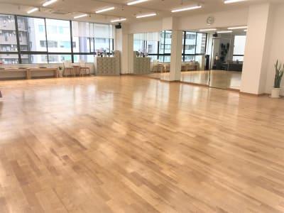 日当たり良好 - DanceStudioHeily レンタルダンススペースの室内の写真