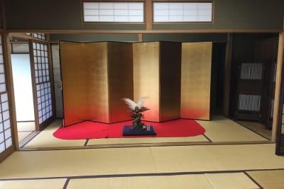 「紫栄庵」 【法人・商用プラン】レンタル和室の室内の写真