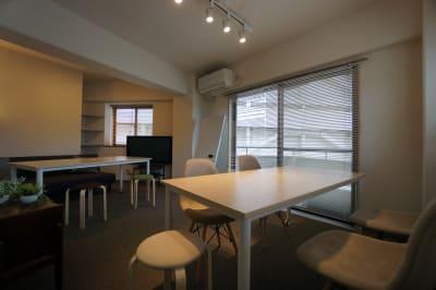 GL CABIN FUTACO MEETING ROOMの室内の写真