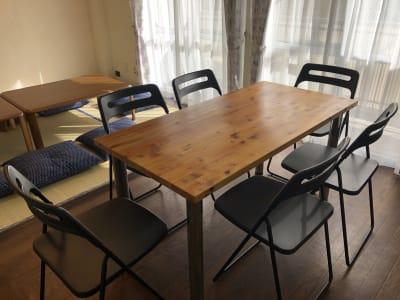 ダイニングテーブル - Coco巣鴨 3B レンタルスペースの室内の写真