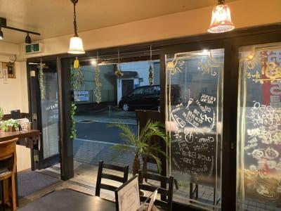 レンタルスペース「nagi」の入口の写真